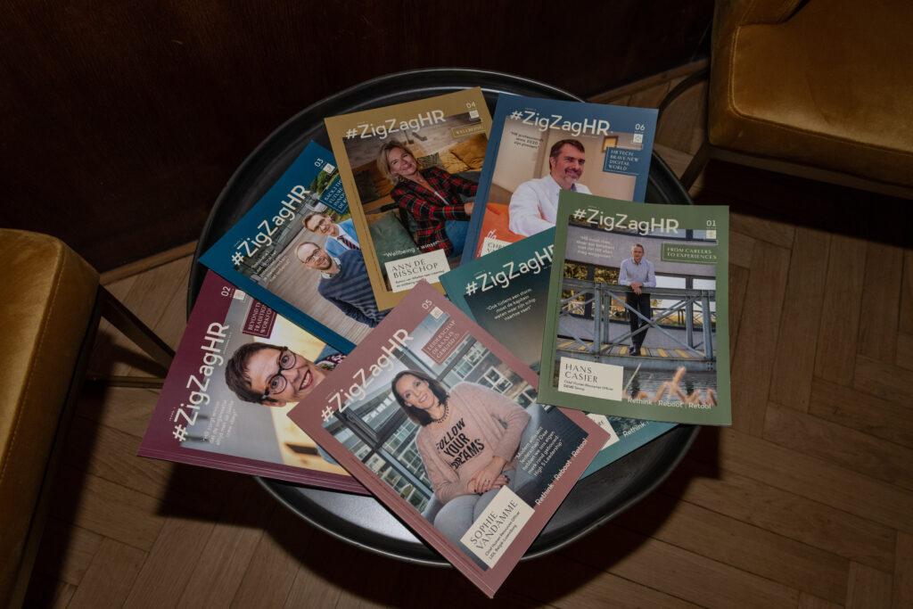 Sfeerbeeld Magazines