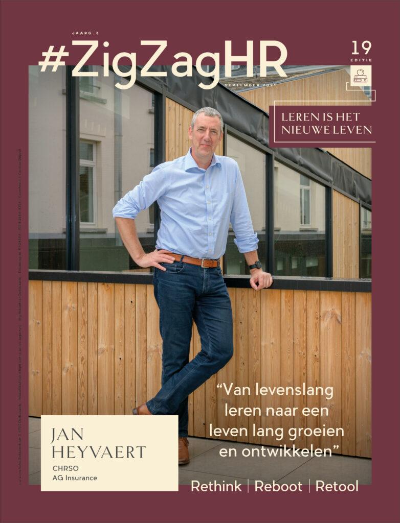 #ZigZagHR cover september 2021 - leren en ontwikkelen - jan heyvaert